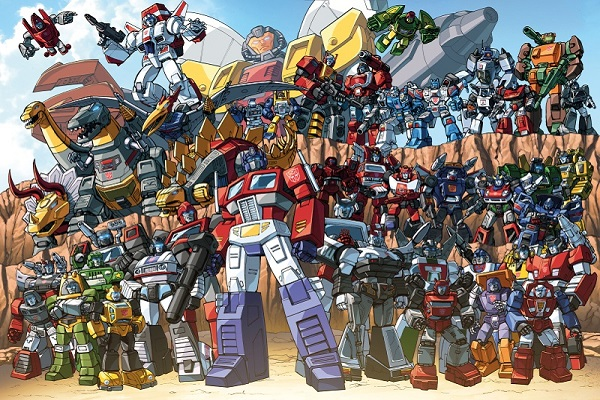 Transformers Autobots Family