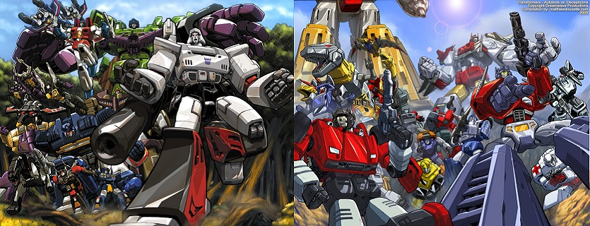 Transformers Decepticons And Autobots