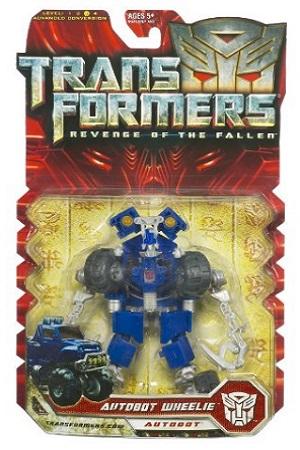 Transformers Revenge Of The Fallen Deluxe Class Autobot Wheelie