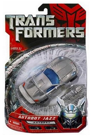 Transformers Movie Deluxe Autobot Jazz
