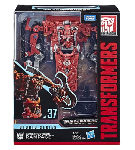 Transformers Revenge of The Fallen Movie Constructicon Rampage