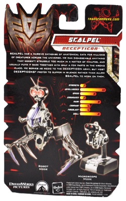 Transformers Revenge Of The Fallen Scout Class Wave 4 Scalpel Action Figure