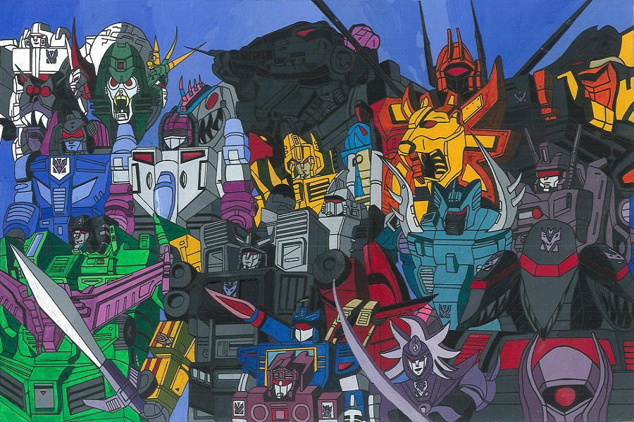 Transformers The Movie 2 Decepticons