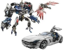 Transformers Dark Of The Moon Soundwave With Laserbeak And Dylan Gould