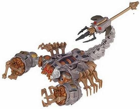 Transformers Movie Deluxe Scorponok