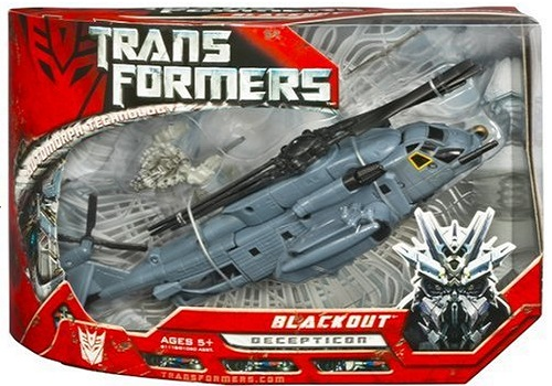 Transformers Movie Voyager Blackout With Scorponok