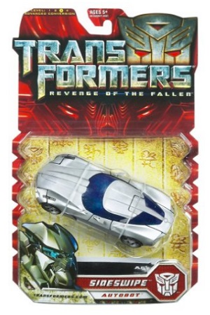 Transformers Movie 2 Deluxe Sideswipe