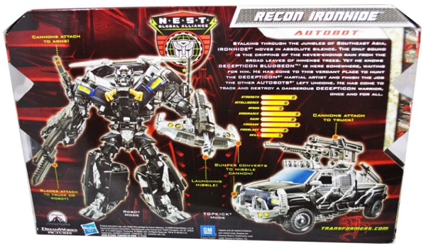 Transformers Voyager Recon Ironhide