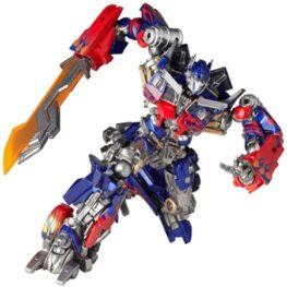 Transformers Dark Of The Moon Revoltech Sci-Fic Super Poseable Action Figure Optimus Prime
