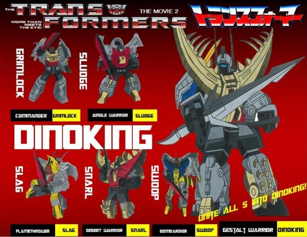 Transformers Wars Classic Edition Dinoking