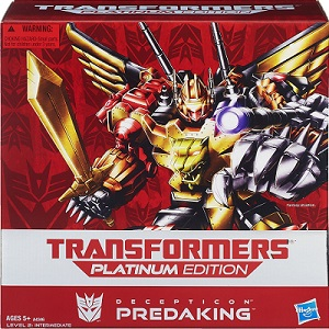 Transformers Platinum Edition Predaking