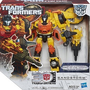 Transformers Generations Autobot Sandstorm With Triple Changer