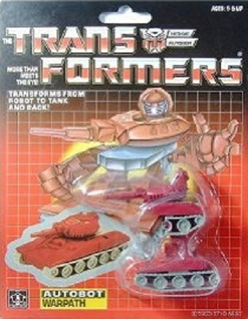 Transformers Warpath G1 MISB Reissue Sealed