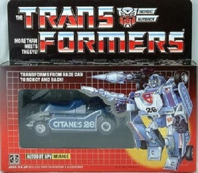 Transformers Mirage G1 MISB Reissue Sealed