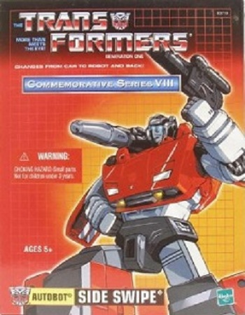 Transformers Hasbro Commemorative Series VIII Action Figure Sideswipe