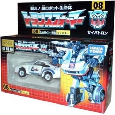Transformers Encore Jazz Reissue
