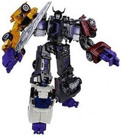 Takara Transformers UW-02 Stunticons Combiner Menasor