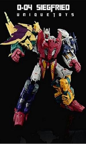 Transformers Unique Toys UT Ordin Abominus Whole Set