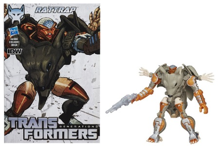 Transformers Generations Deluxe Class Rattrap Maximal Figure