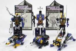 Insecticons Exclusive Transformers 25th Anniversary