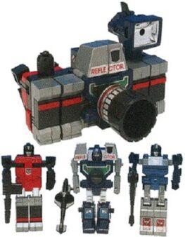 Transformers Reflector G1 MISB Reissue Sealed