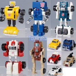 Transformers Encore Minibots Set With Bumblebee