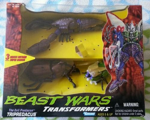 Transformers Beast Wars Evil Predacon Tripredacus