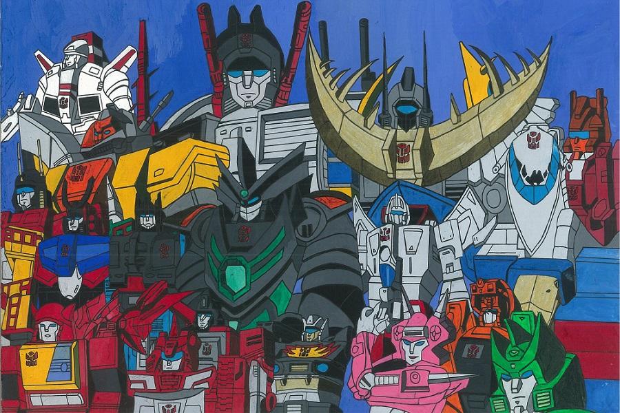 Transformers Art Gallery