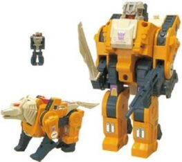 Transformers Weirdwolf Headmaster G1 Reissue