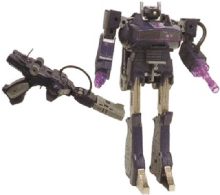 Transformers G1 Reissue Decepticon Shockwave