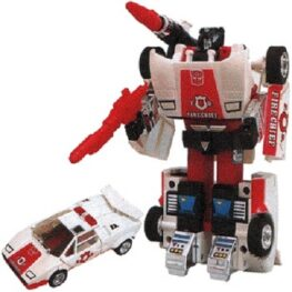 Transformers Red Alert G1 Commemorative Series IV