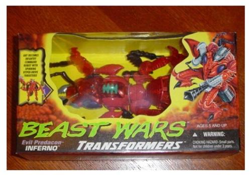 Beast Wars Predacon Inferno