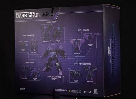 Transformers G-Creation Dark Shuraking