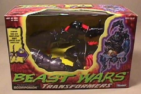 Beast Wars Evil Predacon Scorponok