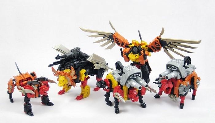 MMC Feral Rex Full Set of 6