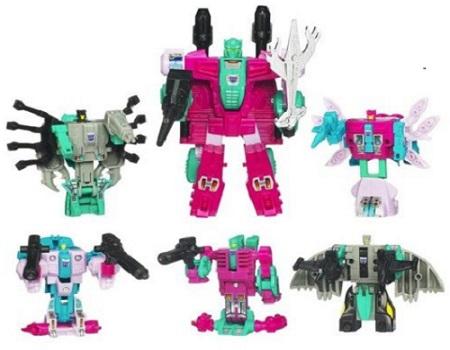 Transformers Limited Edition Seacons Combiner Piranacon