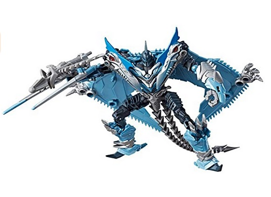 Transformers - The Last Knight Movie Deluxe Premier Edition Dinobot Strafe