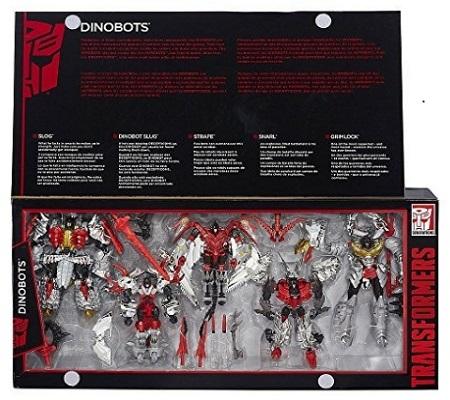Transformers Platinum Edition Dinobots 5 Pack G1