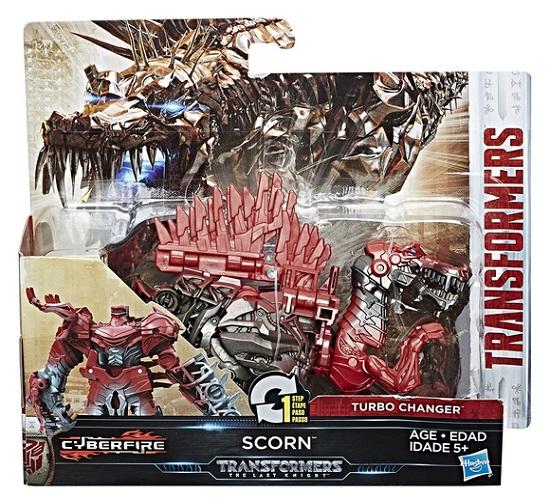 Transformers - The Last Knight 1-Step Turbo Changer Scorn