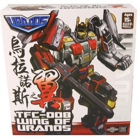 TFC-008 Wings Of Uranos Action Figure By Transformers