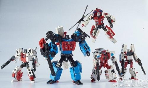 Transformers TFC Prometheus Defensor Whole Set