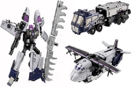 Transformers Universe Decepticon Tankor With Triple Changer
