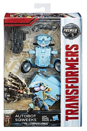 Transformers - The Last Knight Premier Edition Deluxe Autobot Sqweeks