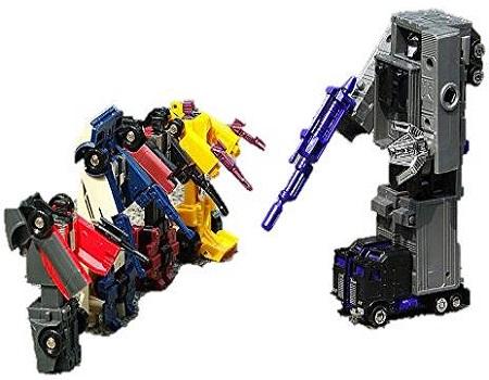 Transformers G1 Menasor Stunticon Giftset