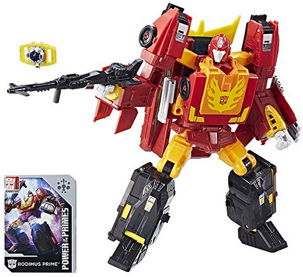Transformers Generations Power Of The Primes Leader Evolution Rodimus Prime